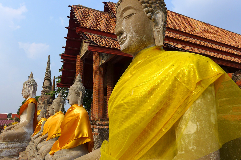 Thaïlande - Ayutthaya - 195 - Wat Yai Chai Mongkhon