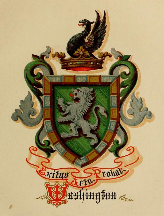 washington coat of arms