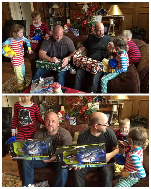 School Christmas Party's and Kiki's 201454