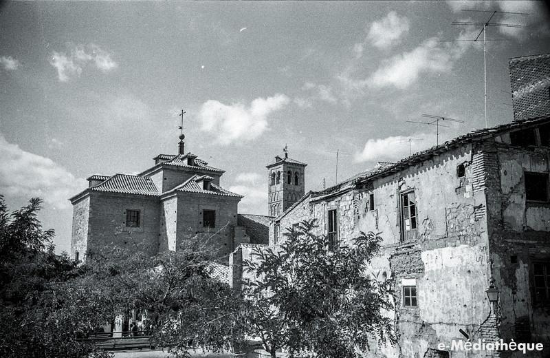 Iglesia de San Miguel en Toledo en agosto de 1965. Fotografía de Jacques Revault © e-Médiathèque | Médiathèque SHS de la Maison méditerranéenne des sciences de l'homme