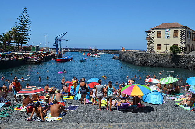 The harbour, Puerto de la Cruz, Tenerife