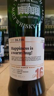 SMWS 26.118 - Happiness is a warm hug!
