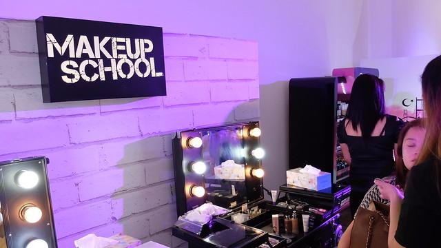 beauty backstage event