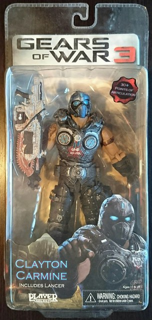 NECA Gears of War - Clayton Carmine