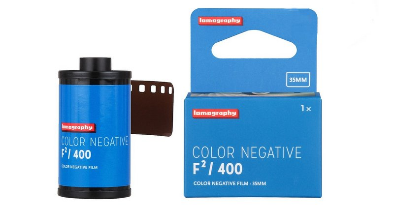 Lomography lance le film argentique Color Negative F²/400 35mm