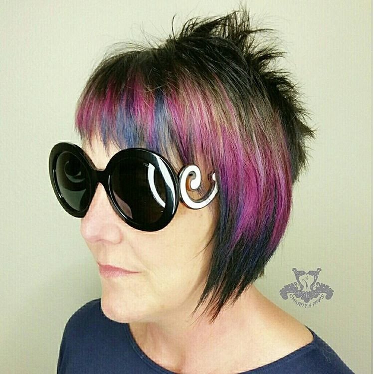 Joico Intensities Metallic Muse Punk Rock Pixie Haircut Flickr