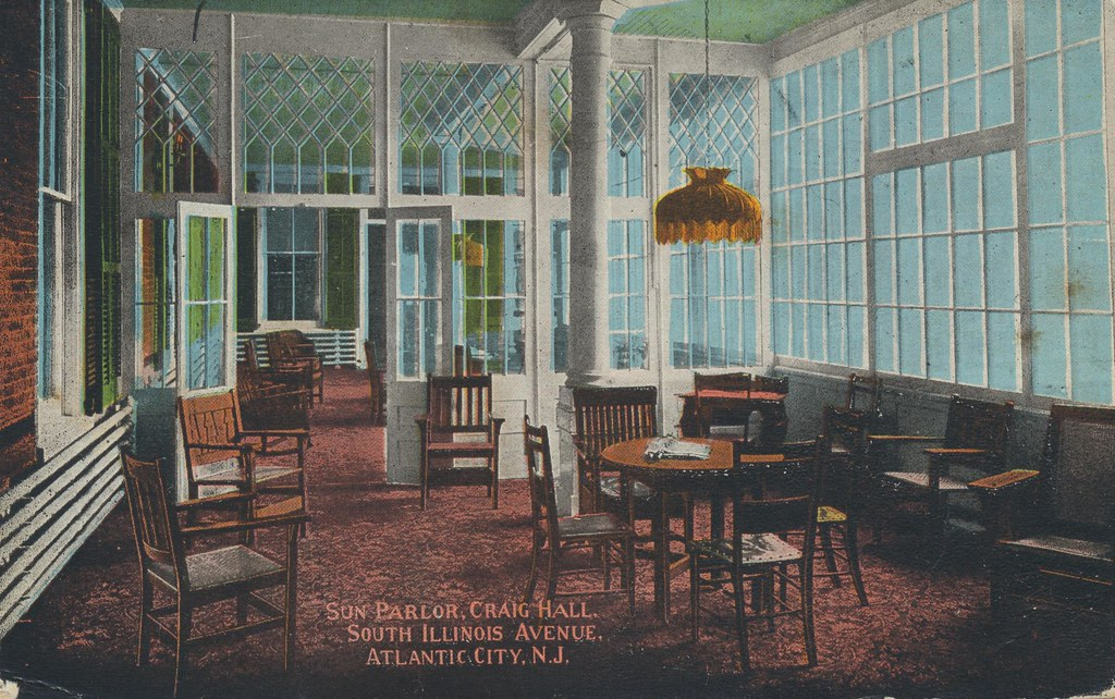 Sun Parlor, Craig Hall - Atlantic City, New Jersey