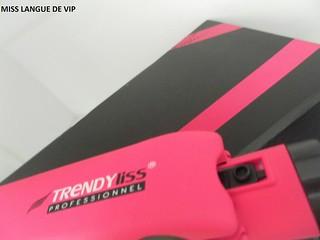 largeur plaques Fer à lisser professionnel TRENDYLISS PINK