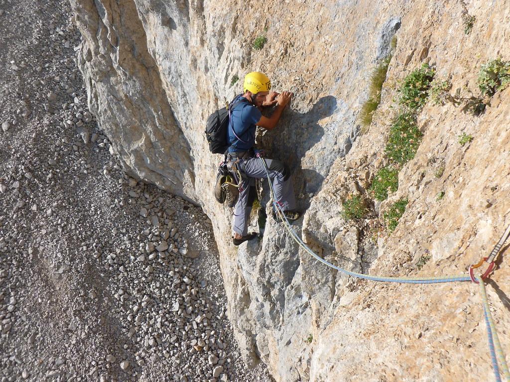 Ο Ι. Παλαπάνογλου τον περασμένο Αύγουστο στα πρώτα μέτρα της διαδρομής.