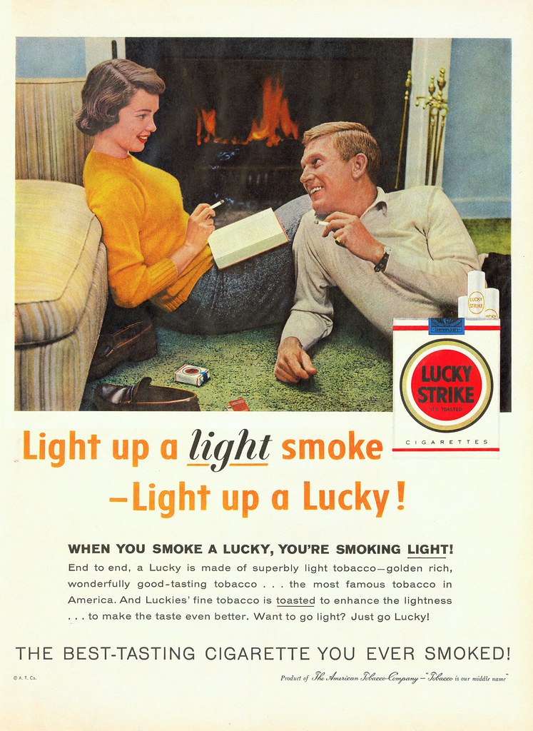 Lucky Strike - published in Life - November 1957