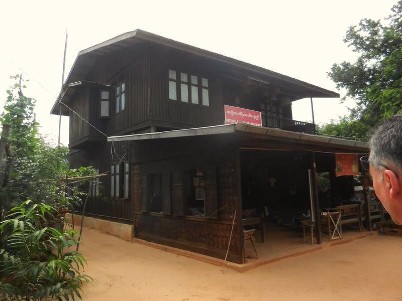 Жилища мьянмцев