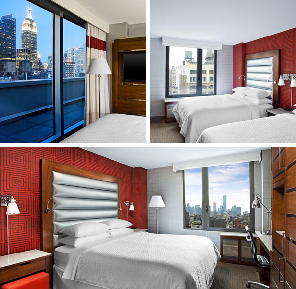 Espectacular habitación con vistas en Nueva York desde el Sheraton Four Points