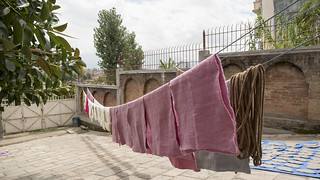 Fabrics Hang to Dry | by World Bank Photo Collection