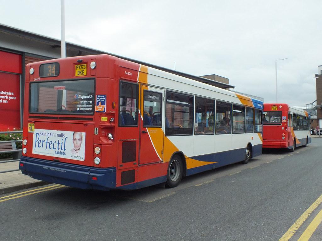 ... Stagecoach in East Kent (TH) 34478 PX53DKE & 34410 GX53MVZ   by  alexf33305