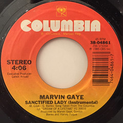 MARVIN GAYE:SANCTIFIED LADY(LABEL SIDE-B)