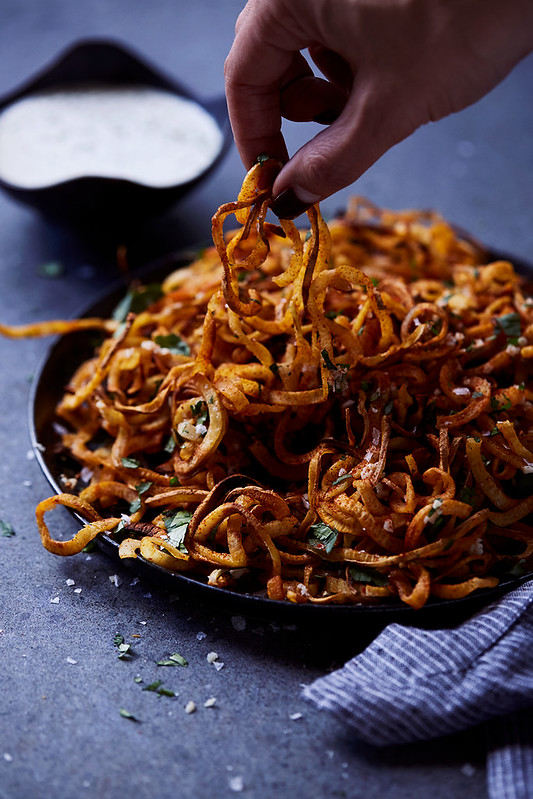 Smoky Shoestring Sweet Potato Fries