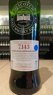 SMWS 7.143 - Boiled sweets and brandy butter