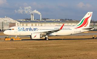 A320-251N, SriLankan Airlines, D-AVVQ / 4R-ANA (MSN 7486)