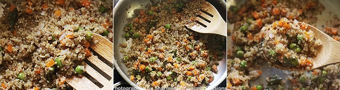 How to make Quinoa Upma Recipe - Step6