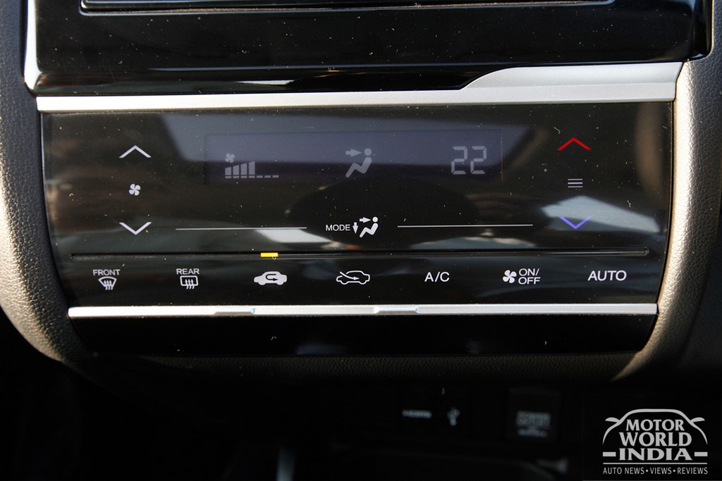 Honda-WRV-AC-Touch-Panel