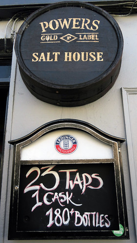 The Salt House, a Galway Bay craft beer pub in Galway, Ireland