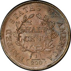 Harlan Page Smith 1805 C-1 Half Cent reverse