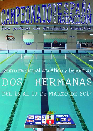 Campeonato de Natación Adaptado cartel