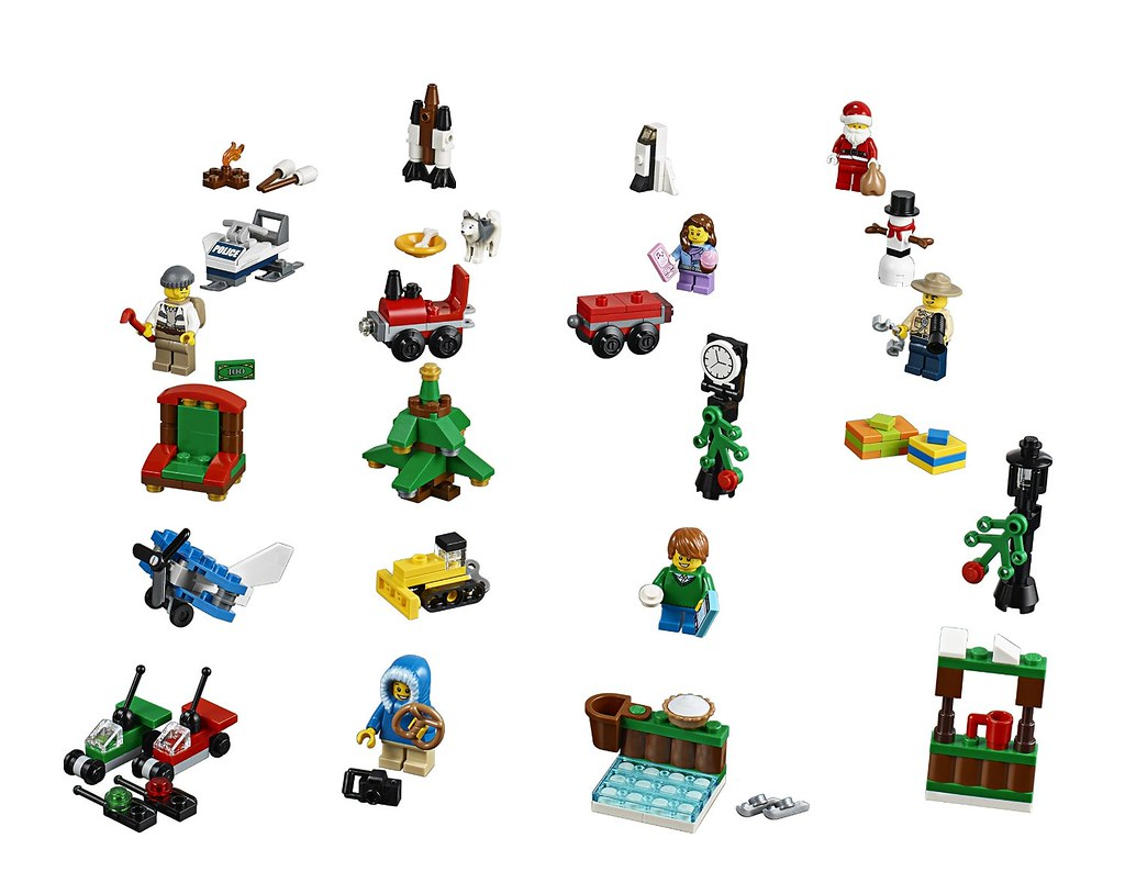 60099 LEGO City Advent Calendar | The Brothers Brick | Flickr