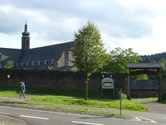 Ankunft am Kloster Himmerod