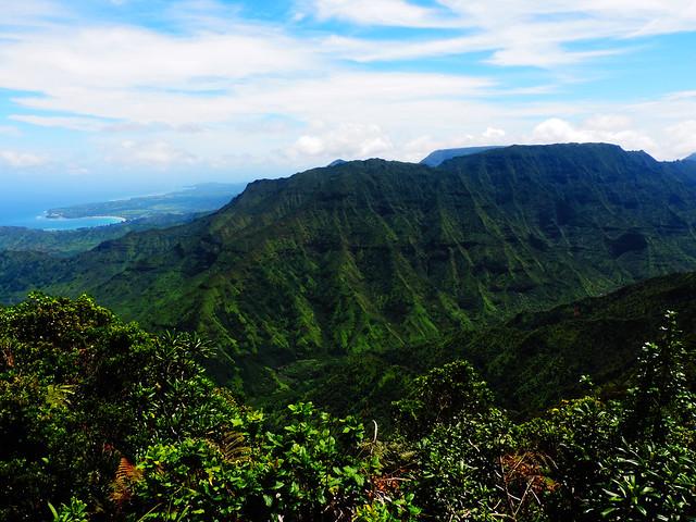 Kilohana Lookout, Kauai, Hawaii