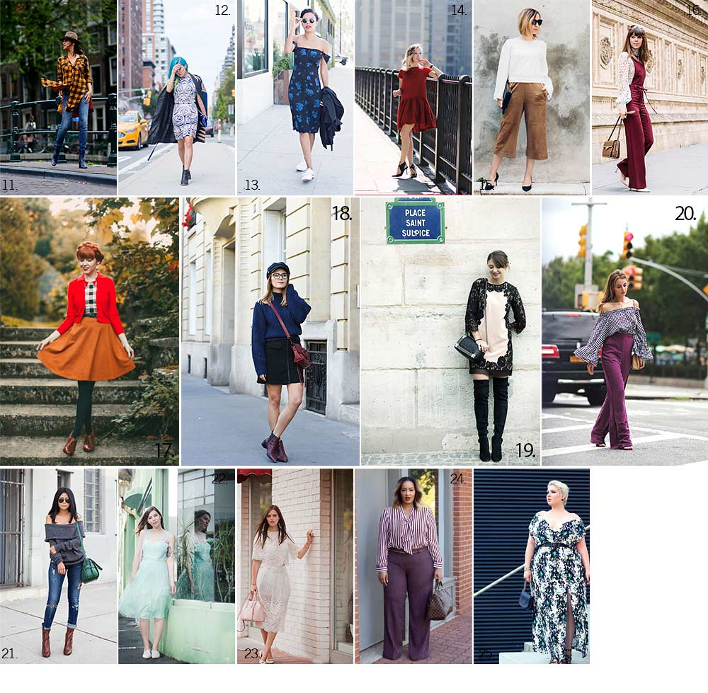 Blogueuses mode looks