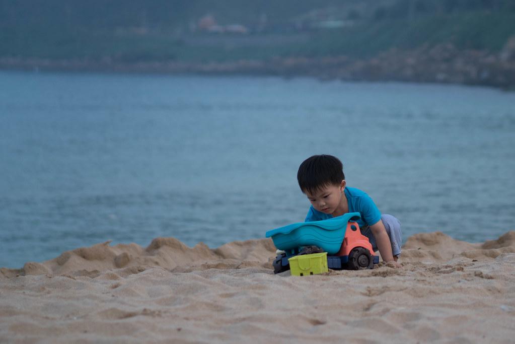 [親子景點]基隆-大武崙沙灘