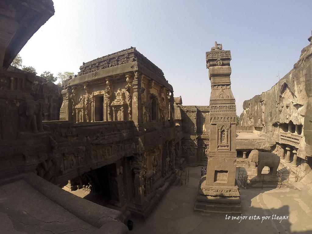 Cuevas de Ellora en la India