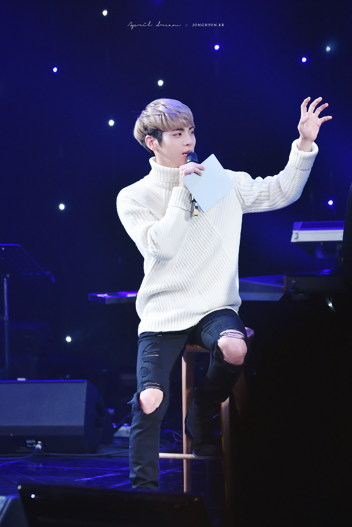 151208 Jonghyun @ MBC Harmony Live Concert 23314409760_d4804bfa12_o