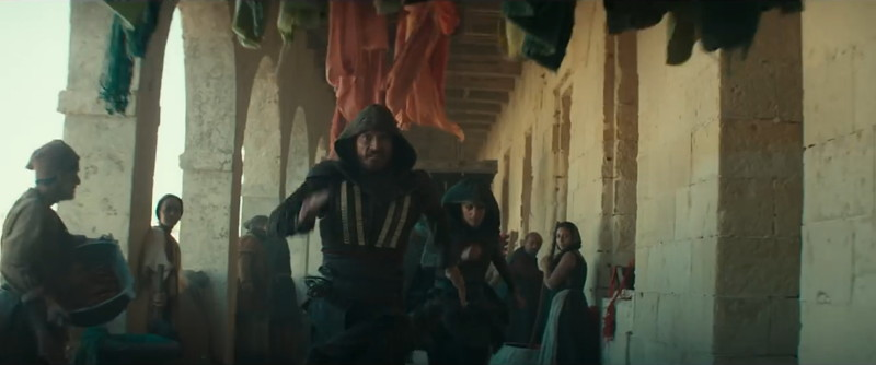 Assassin's Creed escena