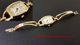 Ladies Rotary Watch in Gold Plate | by PureGoldPlating