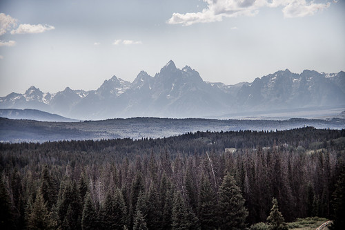 Tetons from the east | by Nick Irving