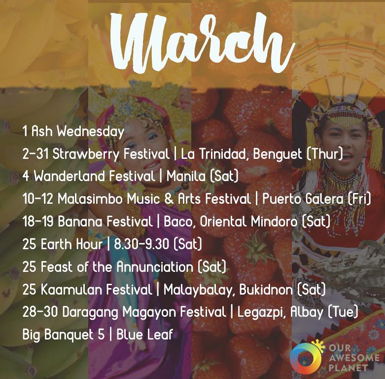 2017 Holidays & Festivals