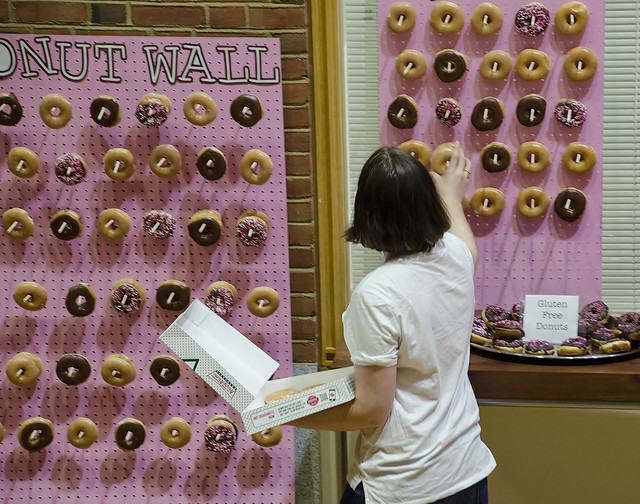 Sophie Built These Donut Walls, Then Stocked Them!