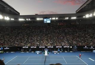 R. Federer vs. K. Nishikori
