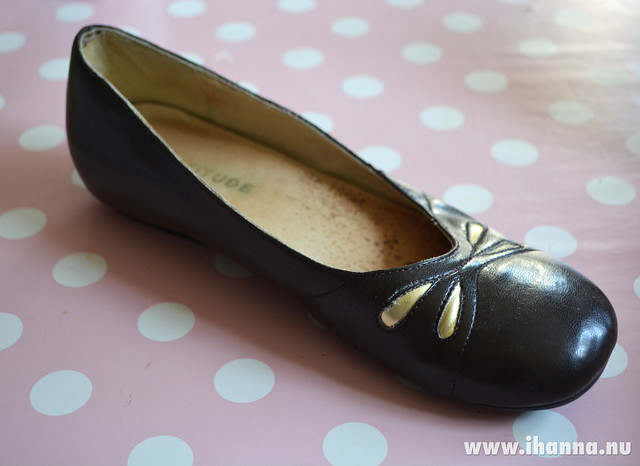 Painted shoes - before it was altered - by @ihanna #diyfashion