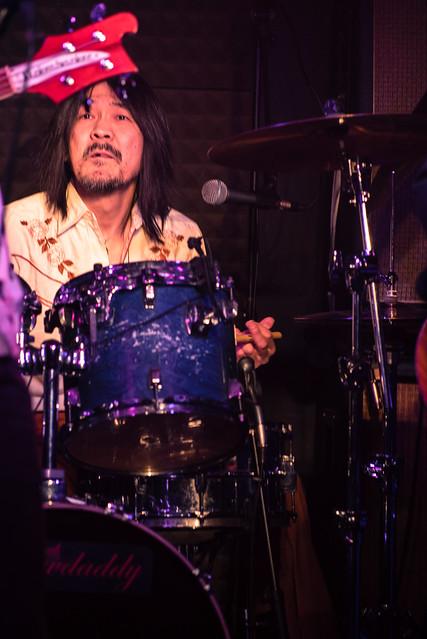 Molten Gold live at Crawdaddy Club, Tokyo, 12 Mar 2017 -00011