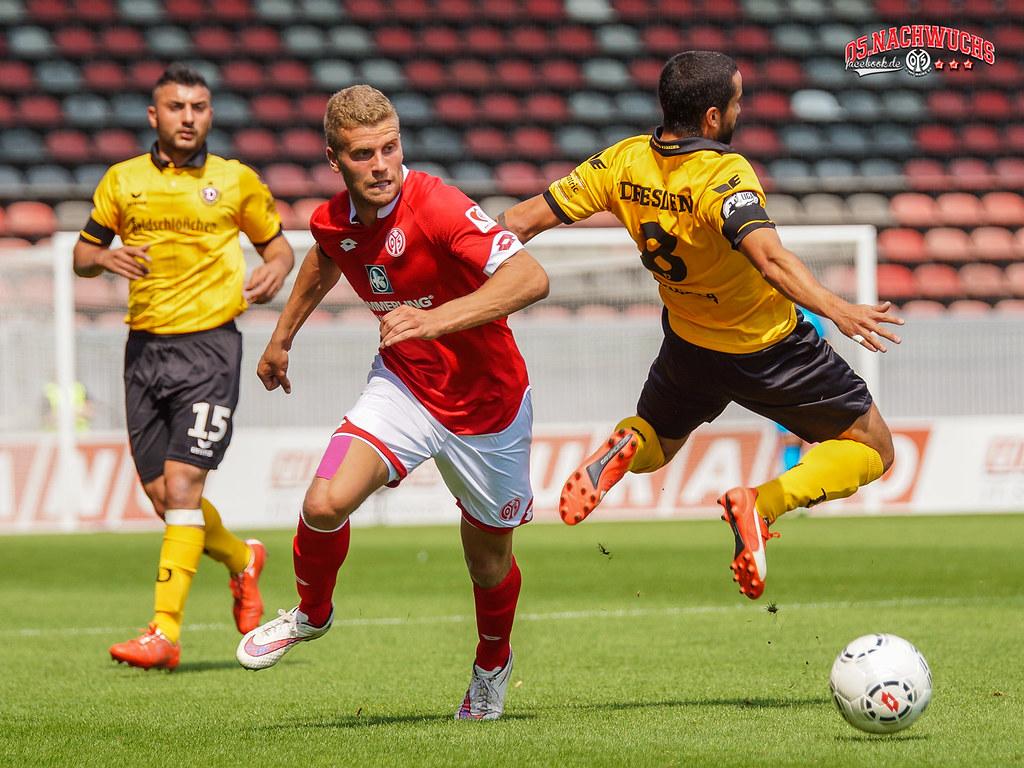 U23 Des 1 Fsv Mainz 05 Gegen Dynamo Dresden 3 Liga Sais Flickr