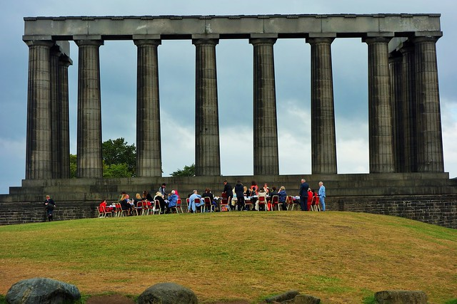 National Monument, Calton Hill, Edinburgh, Scotland.