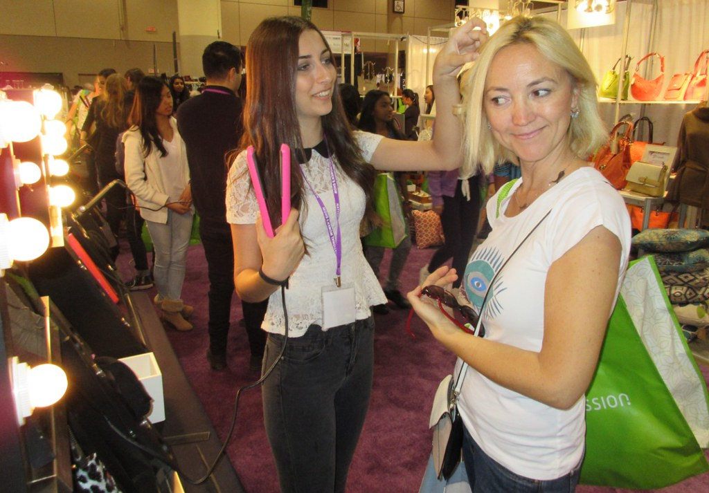 free beauty makeovers at National Womens Show