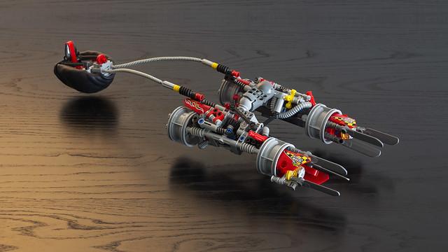 Technic Podracer, by Joe Gan, on Flickr