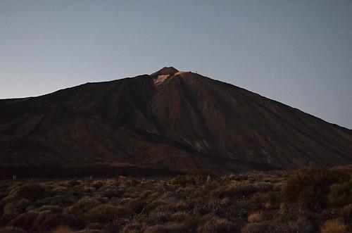Dusk on Mount Teide, Tenerife