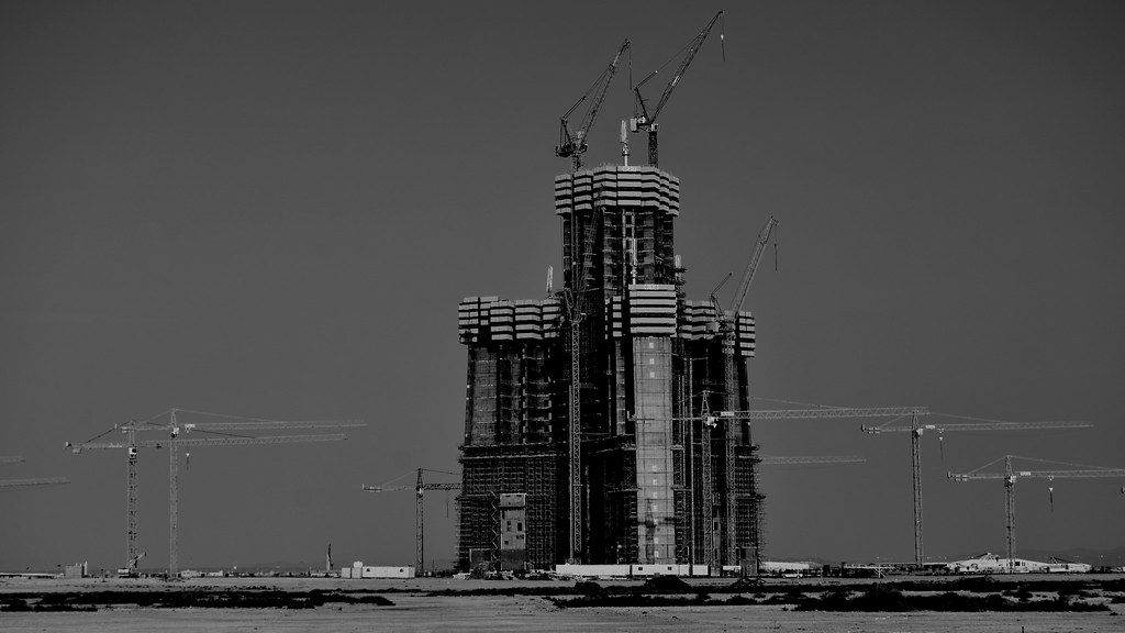 Jeddah Tower Kingdom Tower Mile High Tower Construct