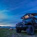 camping at Abraham Lake Alberta (Nordegg)