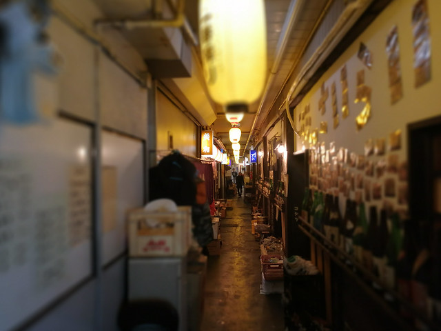 Went food hunting when we saw this food 'street'. This street is actually inside a building.